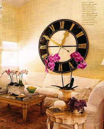 Đồng hồ đẹp cho ngôi nhà