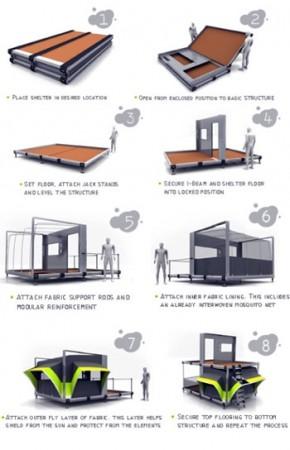 Thiết kế nhà ở cho thiên tai